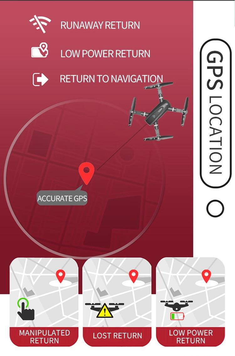 S167 Drone GPS Return