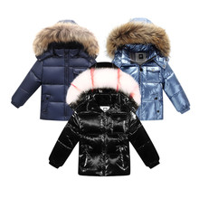fashion winter Jacket for boys clothing mother & kids clothes duck down child baby boy winter clothes girl costume coat snowsuit