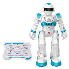RC Toy Robot Intelligent Programming Gesture Sensing Speed Adjustment Smart Robot With Sliding Walking Modes For Kids Boys Girls