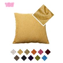 1PC Linen Sofa Cushion Cover Nordic Home Decoration Sofa Bed Decor Decorative Pillowcase Waist Pillow Cover Pillow Cover
