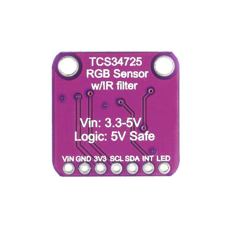TCS34725 Sensore di Colore GY-33 TCS230 TCS3200 RGB Bordo di Sviluppo del Modulo di Riconoscimento di Colore FAI DA TE Elettronico PCB Board Per Arduino