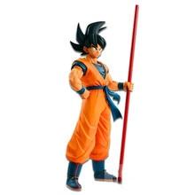 Son Goku Action Dragon Ball Z jouets pour enfants Anime Figurine Figurine PVC modèle Brinquedos cheveux noirs Goku 20th anniversaire poupée