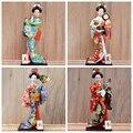 30 см традиционные японские статуэтки гейши статуи японские кимоно украшения для кукол домашний ресторан настольные украшения подарки