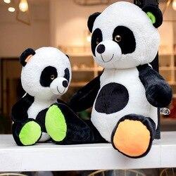 Oso Panda gigante muñeca de peluche juguetes almohada muñeca lindo bebé oso muñeca niños Regalo de Cumpleaños mujeres