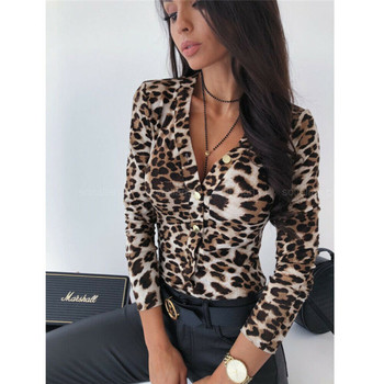 Leopard Skin Printed Bodysuit