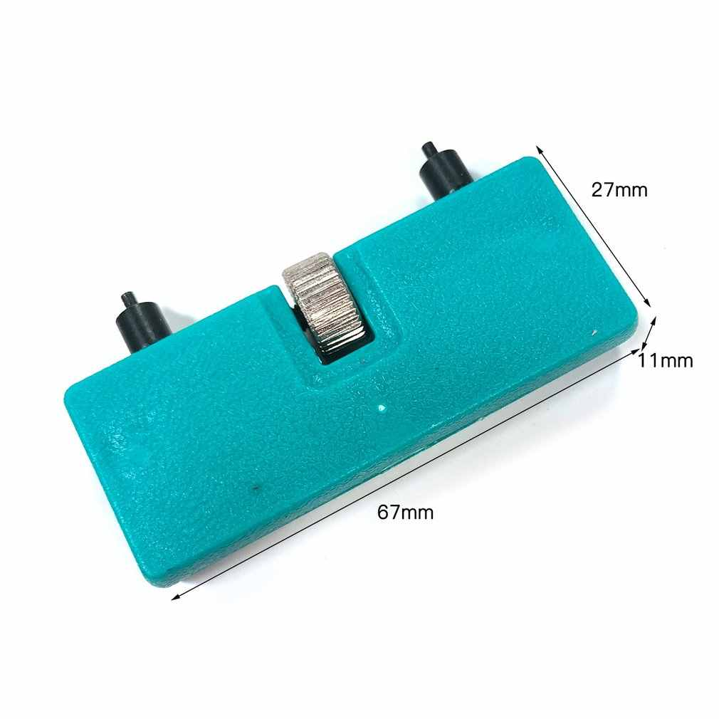 Adjustable Watch Back Case Opener Cover Screw Remover Wrench Repair Tool Portable Two-legged Large-caliber Opener Kit