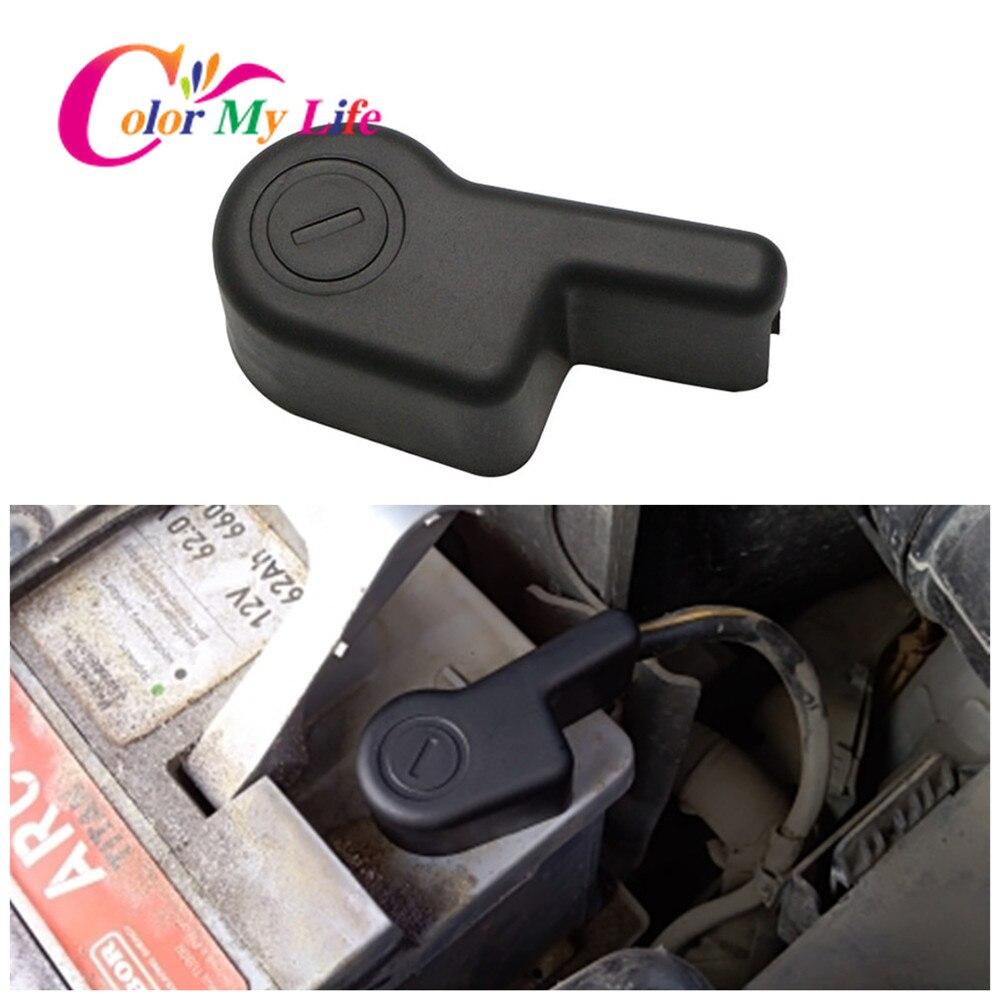 A braçadeira negativa da bateria do motor do carro da minha vida clipes conectores da capa terminal para peças de nissan x-trail xtrail t32 2014-2017