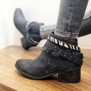 2019 New Ankel Boots Women Boo