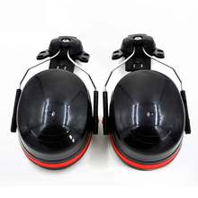Noise Earmuffs on Attachable Helmet Hard Hat Mounting Ear Muffs Sound Reduction Ear Protection for Construction Site