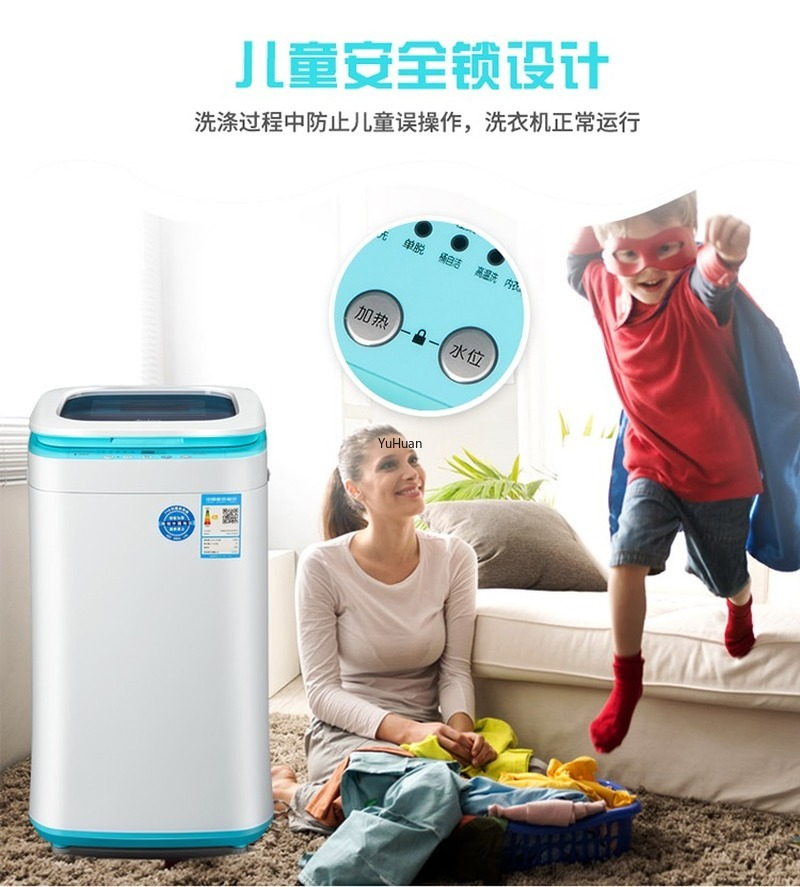 Full Automatic High Temperature Boiling Washing Machine For Infants  Mini Washing Machine  Portable Washing Machine