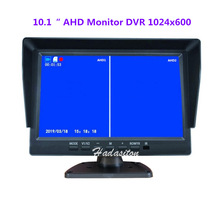 Car-Monitor Ips-Screen Support DVR Driving-Recorder Two-Ways-Installation AHD 1024--600