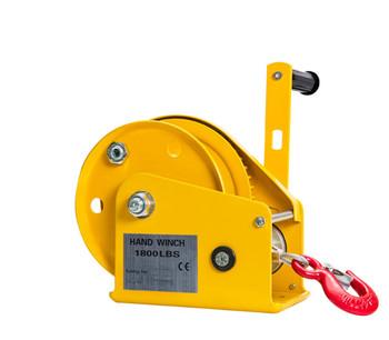 1200 1800 2600LB dwukierunkowa samozabezpieczająca się winda z małymi dłońmi z automatycznym hamulcem wyciągarka ręczna wciągarka ciągnikowa przenośna Whinches tanie i dobre opinie manual
