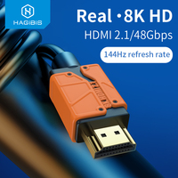 Cavo 2.1 compatibile hdmi-hmi-hdps 48Gbps ad alta velocità 8K/60Hz 4K/120Hz 144Hz cavo digitale 2.0 per HDTV PS5 PS4 proiettore XBox NS