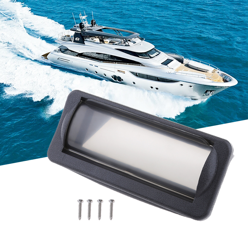 1 Pcs Boat Water Resistant Marine Radio Stereo Head Unit Cover Splash/Dust Guard For Boat/Yacht/Caravan/RV Radio CD MP3 DVD Etc
