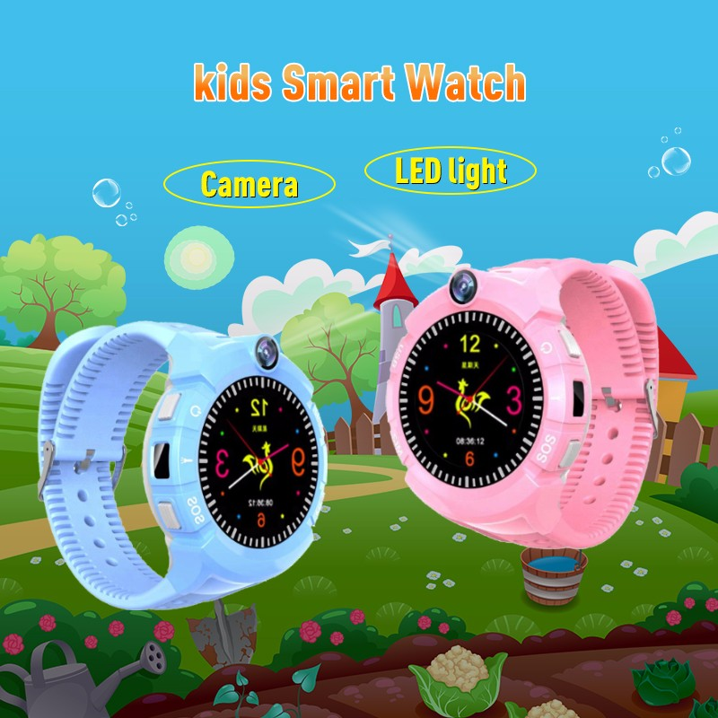 H02394401e59f4673ae5c5c259709c4c9I - New Smart watch Kid SmartWatches GPS Baby Watch for Children SOS Call Location Finder Locator Tracker Anti Lost Monitor
