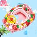 Cartoon Zwembad Speelgoed Baby Stuurwiel Zetel Ring Kinderen Opblaasbare Baby Zwemmen Ring Zwembad Accessoires
