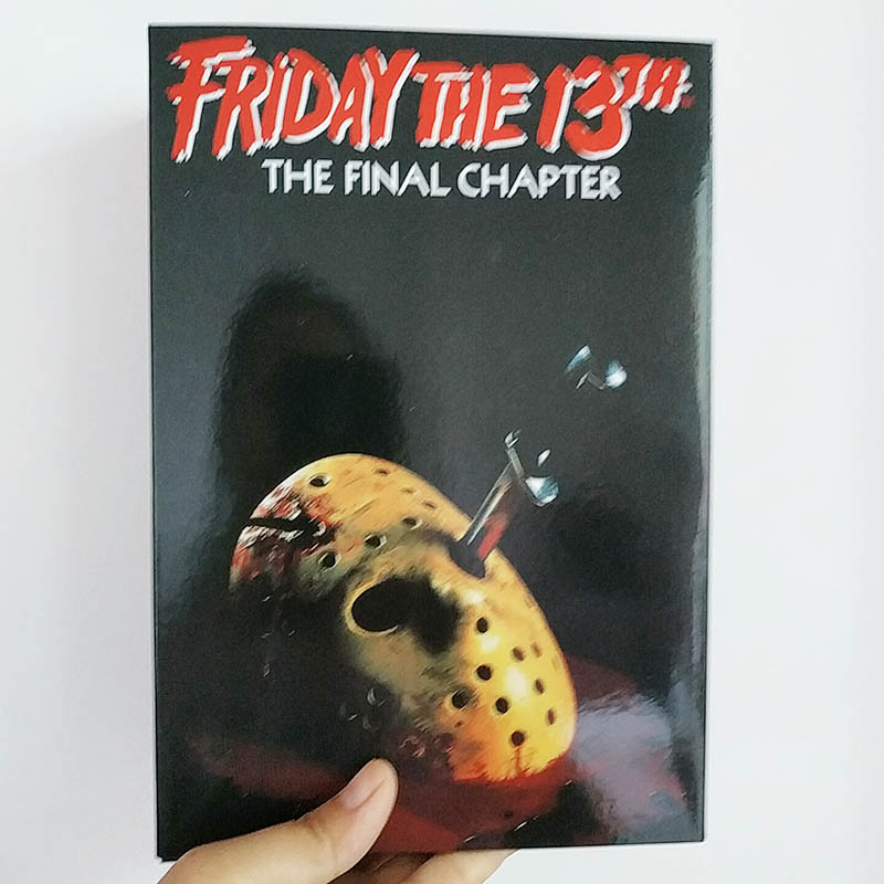 18cm NECA Friday The 13th Voorhees The Final Chapter Pamela Jason Action Figure Model Toys Doll For Gift