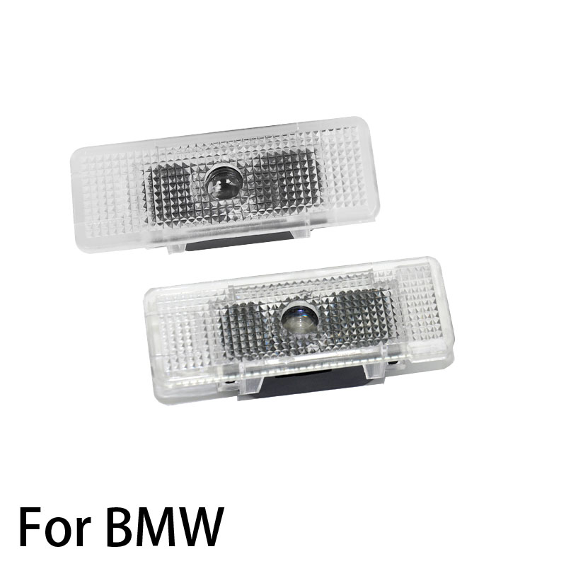 2pcs LED Car Door Light Courtesy Lamp Laser Projector Ghost Shadow Welcome Lights For BMW 5 E39 X5 E53 Z8 E52 528I Accessories