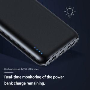 Image 3 - TOPK 10000mAh 보조베터리 18W USB 유형 C 외부 건전지 QC3.0 PD Samsung xiaomi를위한 양용 빠른 위탁 보조베터리