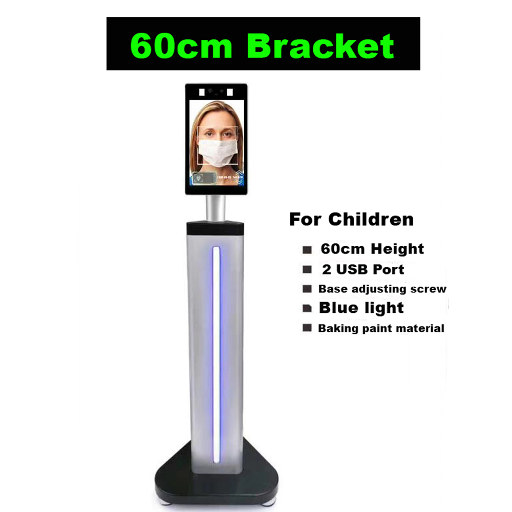8 inch TCP/IP Dynamic face recognition Thermal time attendance access control 2.0 MP camera 50000 faces temperature measuring