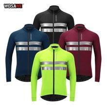 Мужская теплая мотоциклетная куртка wosawe на флисе ветрозащитная