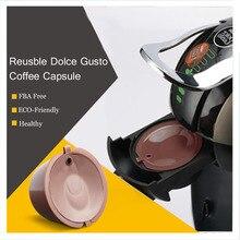 3 шт./lotRefillable Dolce Gusto Кофе Капсула Nescafe Dolce Gusto многоразового пользования капсулы Dolce капсулы с 1 предмета кофейные ложки