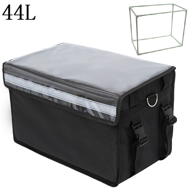 44L Extra Large Cooler Bag Car <font><b>Ice</b></font> <font><b>Pack</b></font> Insulated Thermal <font><b>Lunch</b></font> Pizza Bag Fresh Food delivery Container Refrigerator Bag NB24 image