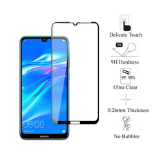 Full Cover Tempered Glass For Huawei Y5 Y6 Y7 Y9 Prime Pro 2019 2018 Screen Protector Protective Glass For Huawei Y5 Y6 Y7 2019 9d tempered full cover protective glass on for huawei y9 prime 2019 y7 2020 y6 pro y5 prime y7 2018 y9s screen protector film