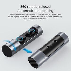 Image 3 - X8 TWS אלחוטי Bluetooth אוזניות סטריאו אוזניות IPX6 עמיד למים מיני ספורט Earbud Hifi קול מגע בקרת אוזניות עם מיקרופון