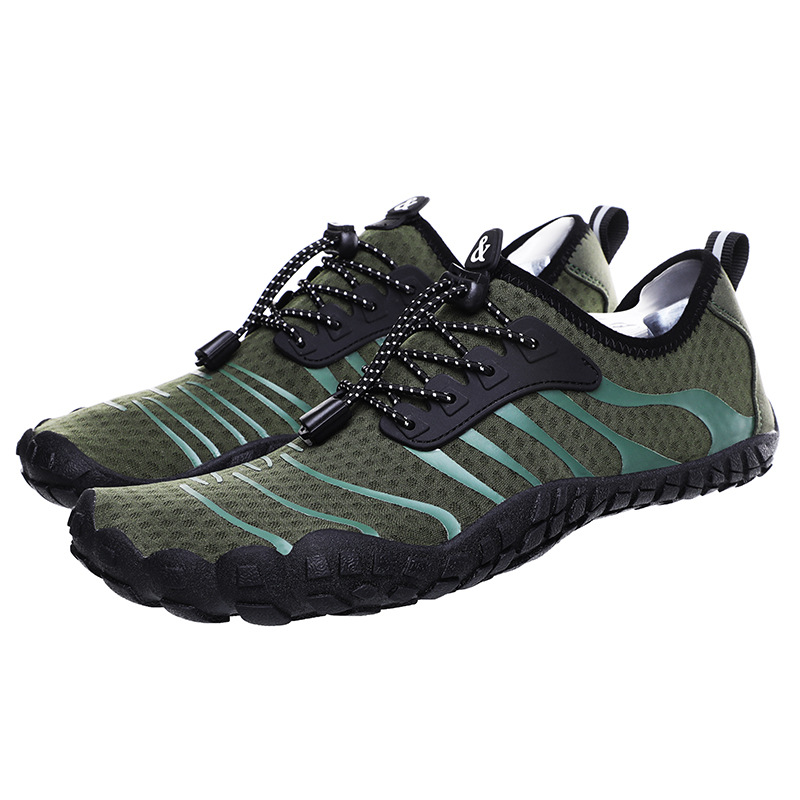 Outdoor Hiking Trail Shoes Couple Five-finger Swimming Water Shoes Mountaineering Sports Shoes Beach Shoes Wading Shoes