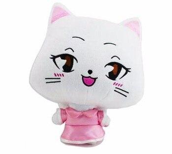 20 سنتيمتر أفخم لطيف موضة الجنية الذيل أرقام كارلا القط لعبة لينة دمية على شكل حيوان الجنية الذيل عيد الميلاد هالوين مهرجان هدية طفل