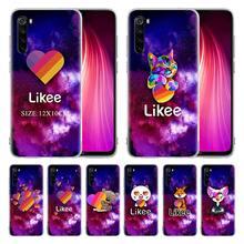 Likes gato engraçado urso amor coração silicone caso para xiaomi redmi 9 9a 9c 8 8a 7 7a 6 6a nota 9 9s 9 pro max 8 pro 8t 7 capa coque