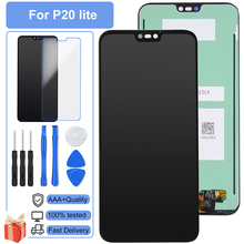 5Pcs/Lot AAA +++ LCD For Huawei P20 Lite Nova 3e LCD Display Screen Replacement Assembly Digitizer Touch Screen Perfect Pantalla