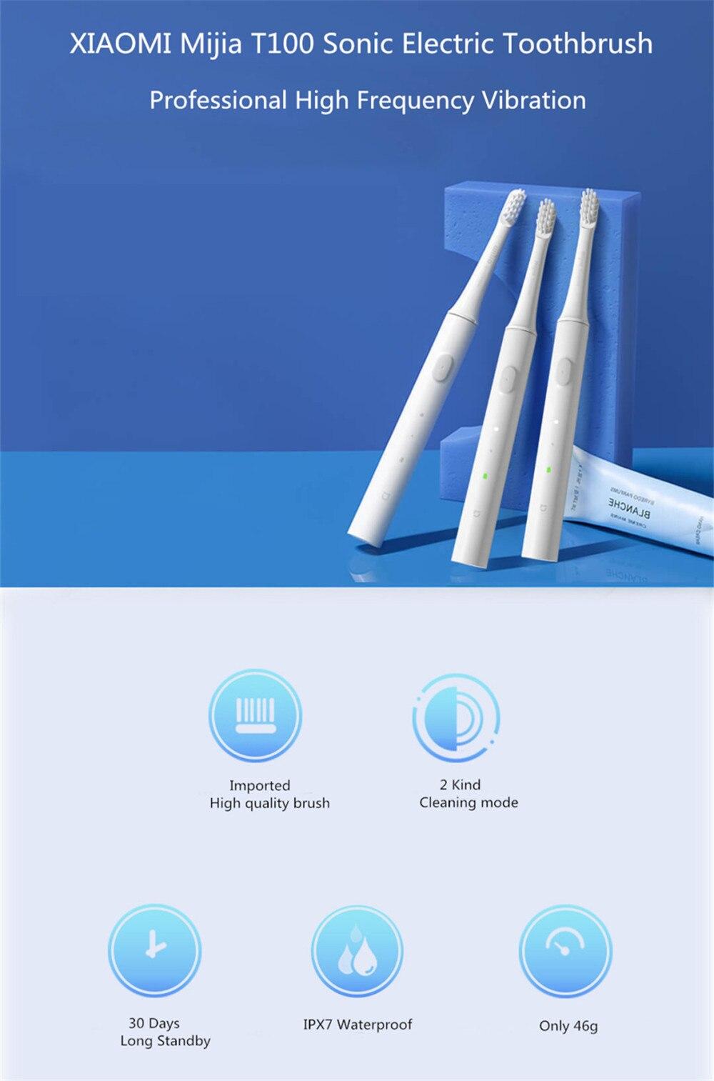 Brosse à dents Xiaomi Mijia T100 électrique prix maroc