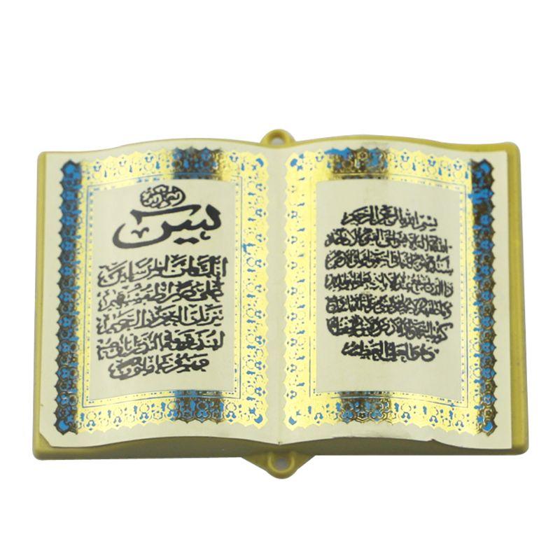 Bible Book Magnetic Refrigerator Sticker Islam Eid Mubarak Ramadan Decor Crafts B85C