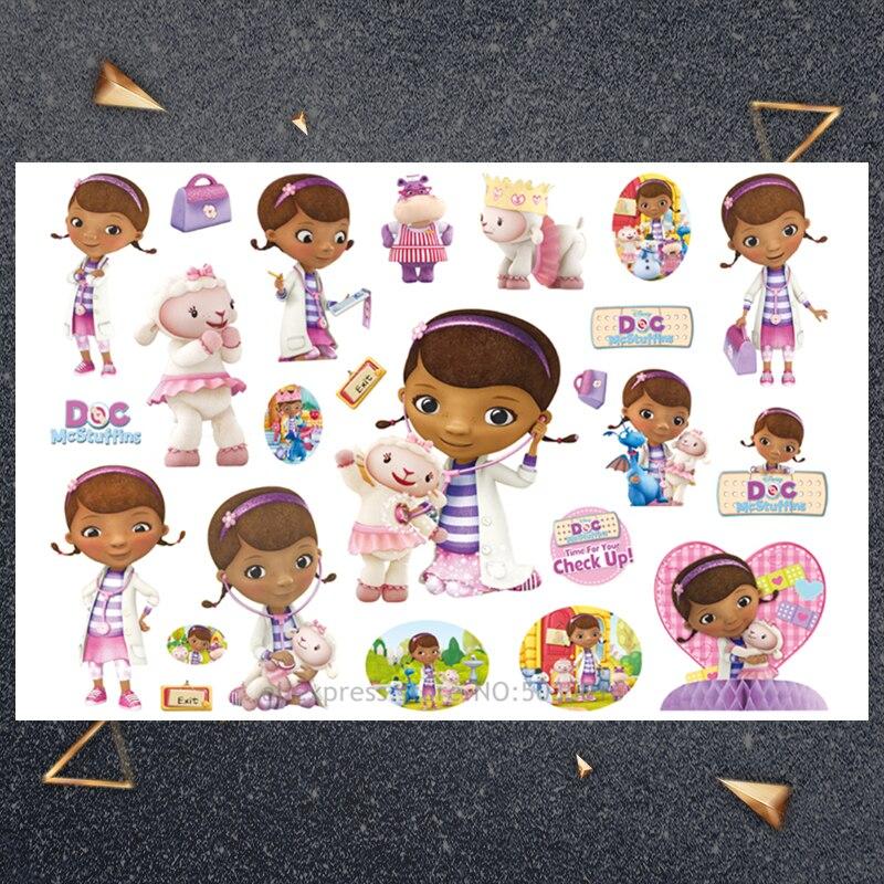 Hasbro Dora monkey sticker Children Cartoon Temporary Tattoo Sticker For Boys Cartoon Toys Waterproof Party Kids Gift