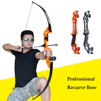Archery Professional Recurve Bow Takedown Hunting Bow For Shooting Metal Riser Sports Shooting Archery Target Outdoor|Bow & Arrow| |  -