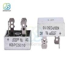 KBPC5010 однофазный диодный мост выпрямитель 50A 1000V KBPC 5010 силовой выпрямительный диод электронные компоненты