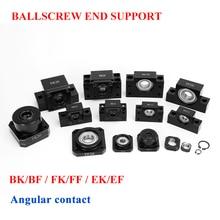 Ball Screw End Support BK10 BF10 BK12 BF12 BK15 BF15 BK20 BF20 FK10 FF10 FK12 FF12 FK15 FF15 EK10 EK12 SFU1204 SFU1605 SFU2005