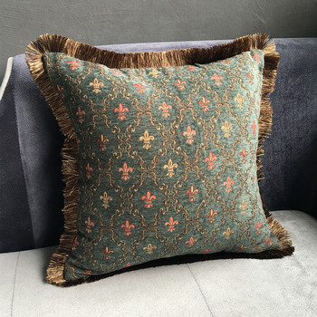 Vintage Chenille Cushion Cover