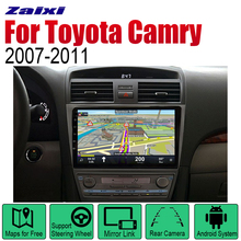 ZaiXi Android 2 Din Auto Radio For Toyota Camry 2007~2011 Car Multimedia Player GPS Navigation System Radio Stereo zaixi android 2 din auto radio dvd for toyota camry 2007 2011 car multimedia player gps navigation system radio stereo