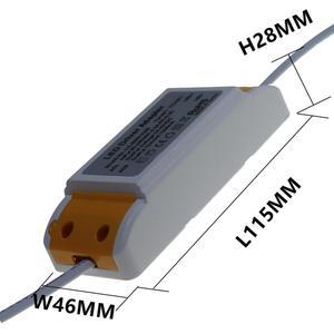 Image 5 - 36W 42W 50W LED פנל אור נהג 600mA 900mA 1200mA 1500mA LED אספקת חשמל יחידה AC85 265V תאורה רובוטריקים עבור LED אור