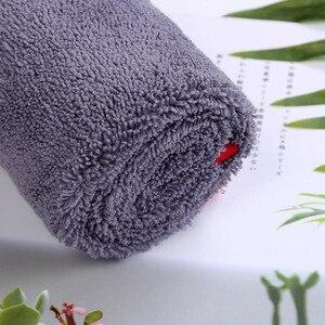 Image 2 - Chiffon de séchage en microfibre à poils longs, serviette Super absorbante sans tourbillon pour fenêtre de peinture, haute Performance de teinture, 40x60cm