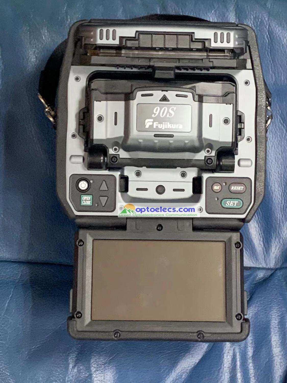 Fusion-Splicer Ct-50-Fiber Welder Cleaver Welding-Machine Multi-Languages Latest 90S