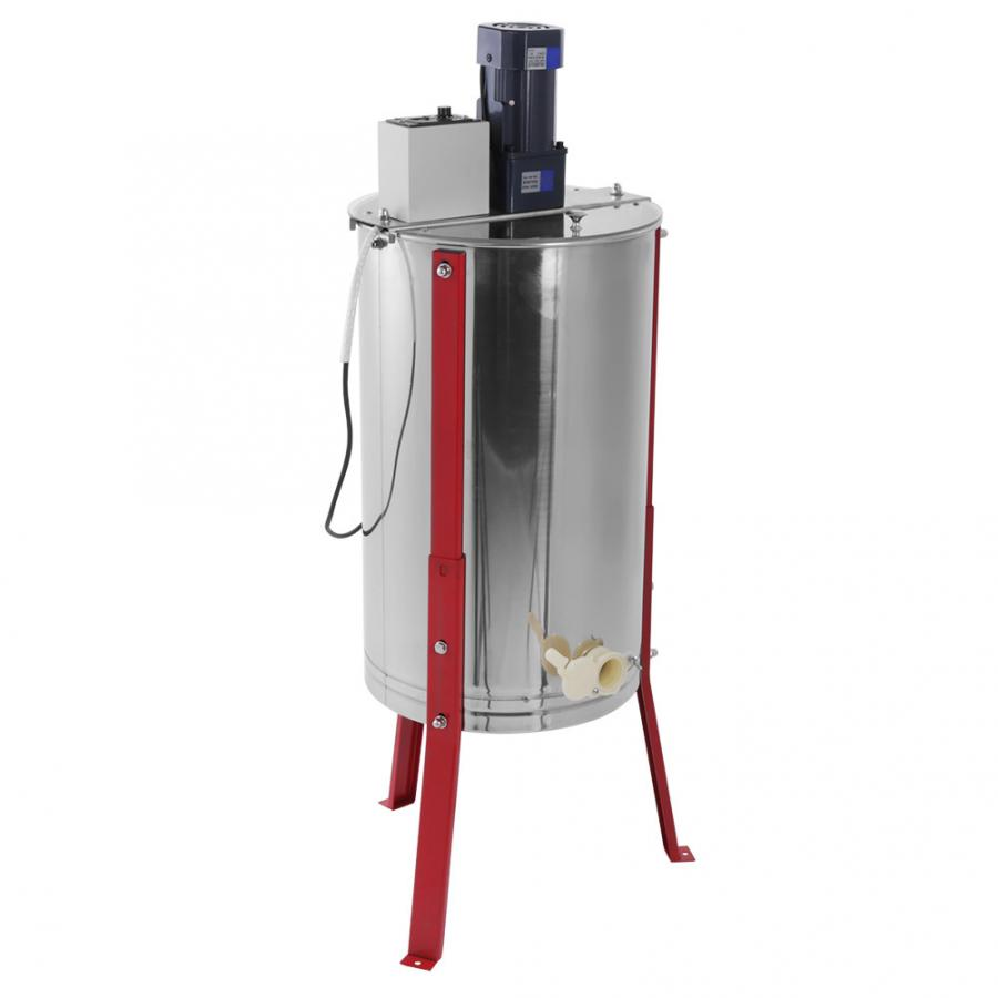 3 Frame Electric Honey Extractor Separator For Beekeeper EU Plug 220V Stainess Steel