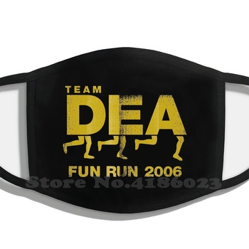 Dea Fun Run Fashion Trendy Cotton Masks Heisenberg Dea Walter White Fun Run El Camino J Pinkman Blue Meth Cooking Meth image