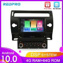 Android10.0 Touch Screen Car GPS DVD Stereo For Citroen C4 C Triomphe C Quatre 2004 2009 Video Radio WIFI FM Multimedia Player