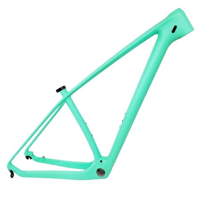 THUST cadre de vtt en fibre de carbone 29 pouces T1000 UD, vélo de descente, fabriqué en chine, 15, 17 et 19 pouces, bon marché