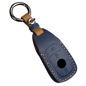 Image 2 - Leder Auto Schlüssel Fall Abdeckung für Mercedes Benz CLA180 CLS350 GLB GLA GLE GLC GLK GLS ML250 R320 S400 E Klasse C260L E260