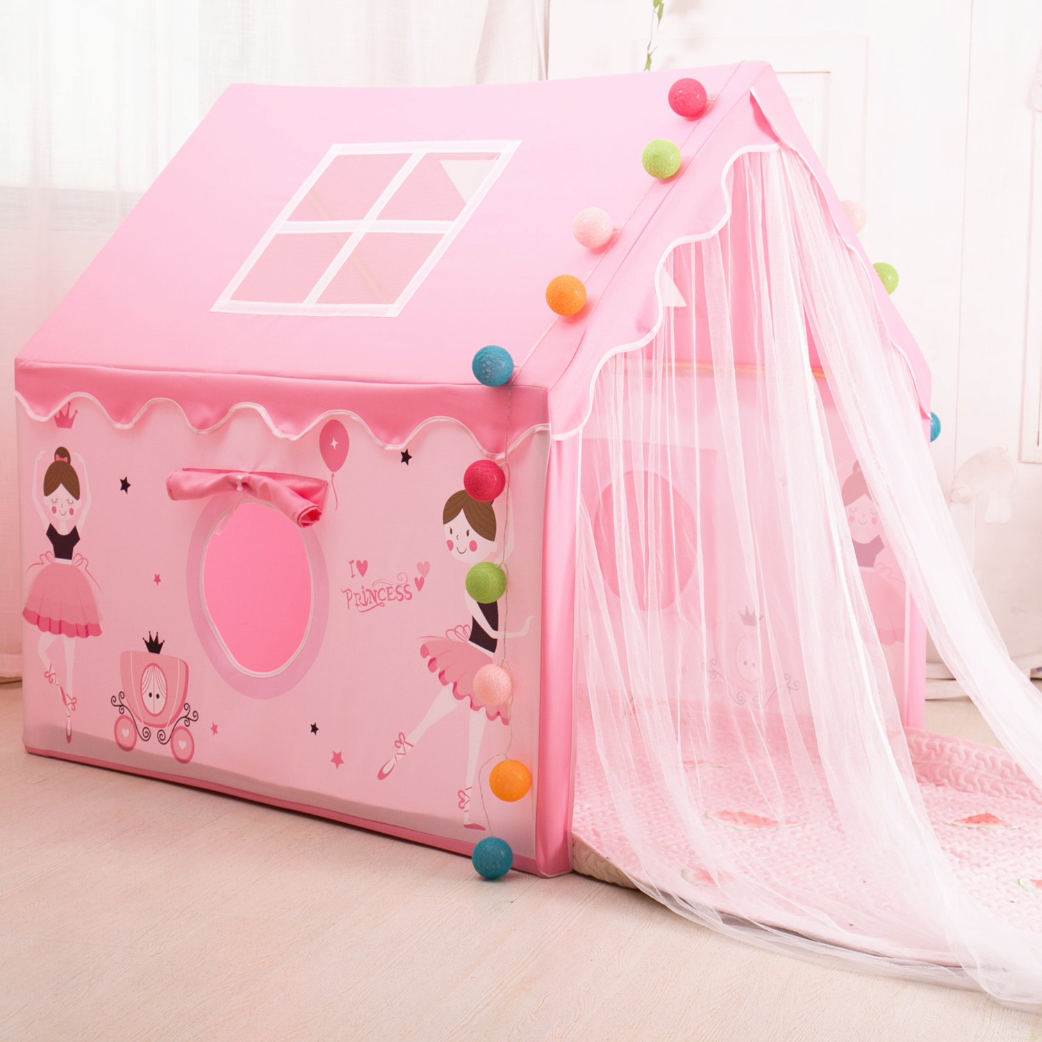 Children's Tent, Playhouse, Indoor Sleep, Princess Playhouse, Girl Boy's House, Castle, Sub Bed, Artifact, Playhouse